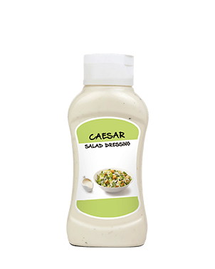 Caesar Salad Dressing Topdown Plastic